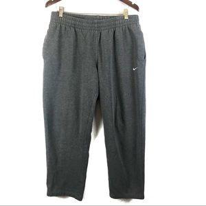 Nike Gray Sweat Pants L
